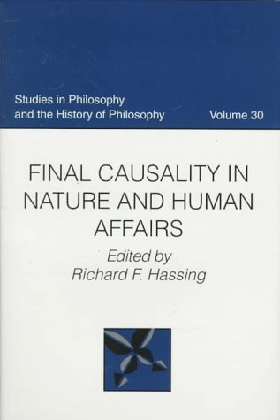 Final Causality in Nature and Human Affairs cover